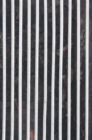 grating: solid steel grating pattern