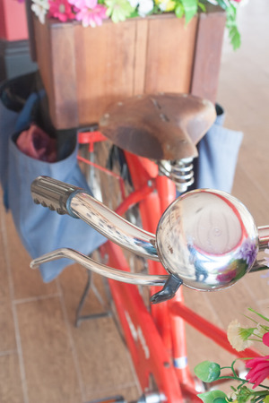 gripping bars: bicycle bell on bike handle
