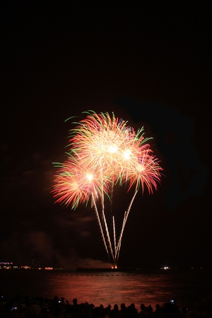 festive, fire, firework, fireworks,Pattaya Stock Photo - 11729812