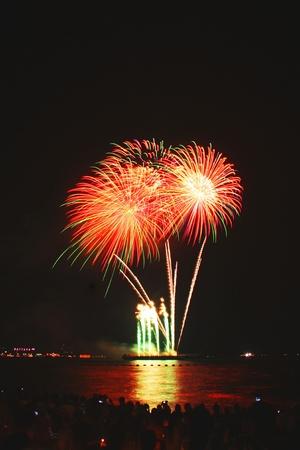 festive, fire, firework, fireworks,Pattaya Stock Photo - 11729814