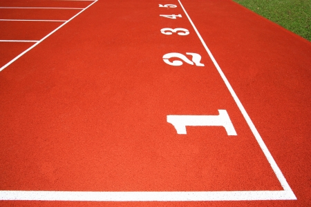 starting point at running track
