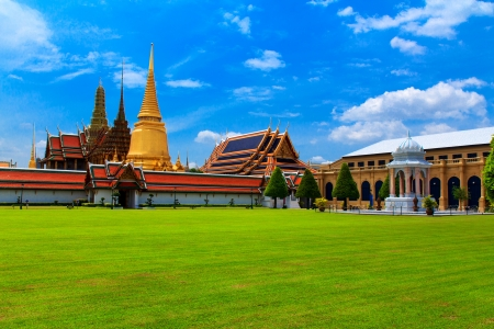 Marble Temple Wat Benchamabophit Dusitvanaram , major tourist\ attraction, Bangkok, Thailand This is a Buddhist temple, it is one\ of Bangkok s most beautiful temples and a major tourist\ attraction