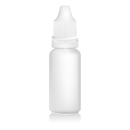 Eye dropper bottle isolate on white background Vector