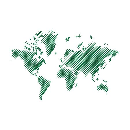 Pen art sketch drawing world map for web and mobile app pen art sketch drawing world map for web and mobile app illustration gumiabroncs Image collections