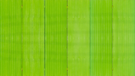 Metal sheet with green color painted background and texture