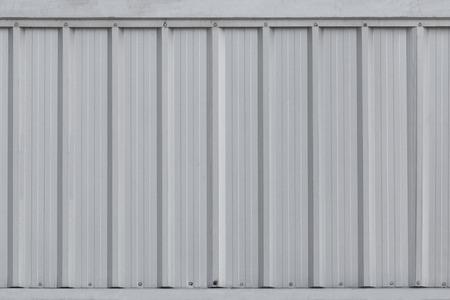 aluminium background: silver metal sheet wall, aluminium corrugate wall background and texture.