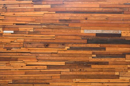 Timber wood wall texture background, dark wooden wall surface for decoration.