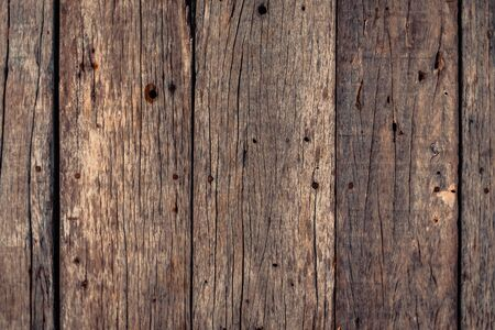 Dark brown wood texture with natural striped pattern for background, wooden surface for add text or design decoration art work