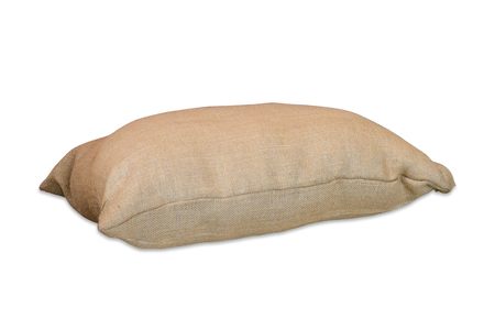 sandbag: sacks bag isolated on white background