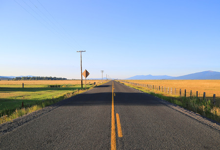 Section of Oregon scenic highway Stock fotó - 32507354