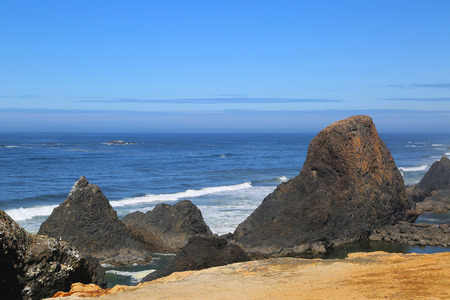 Rocky Pacific Coastline