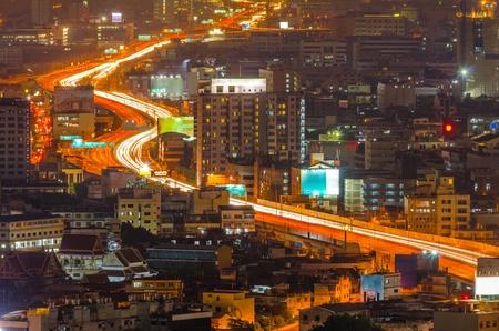 A toll road in bangkok city