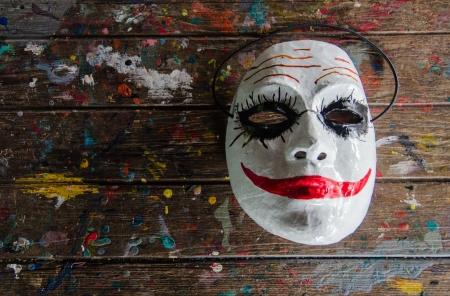 The Joker masks in bangkok city