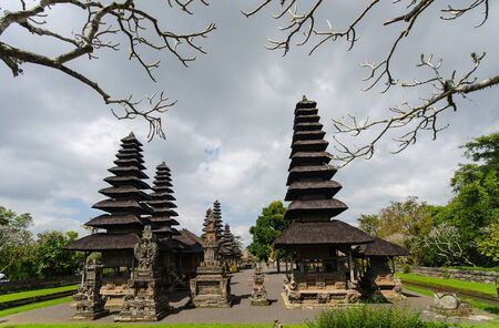 Temple in bali indonesia country