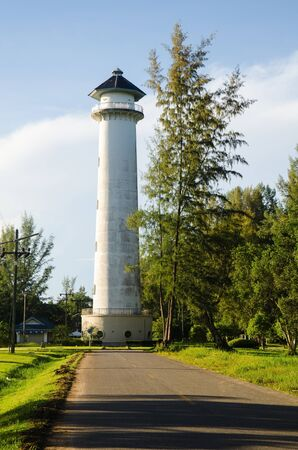 trang: A lighthouse on junction near ratchamongkol beach