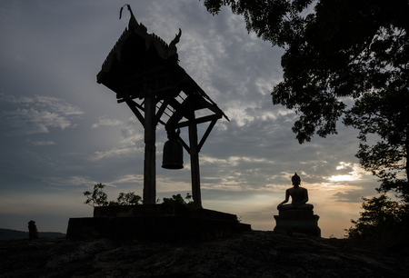 belfry: Buddha statue and belfry