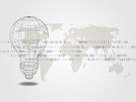 Technology Background. Vector illustration.