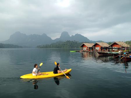 Kayak at Surat thani , thailand