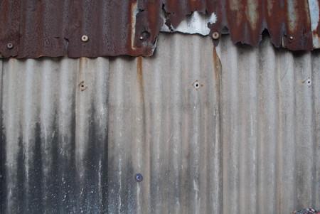 old galvanized iron background