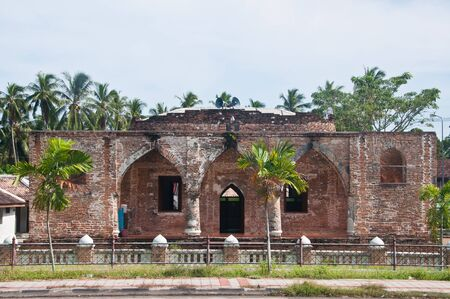 pattani thailand: Krue Sac Mezquita de hace 200 a�os pattani Tailandia Foto de archivo