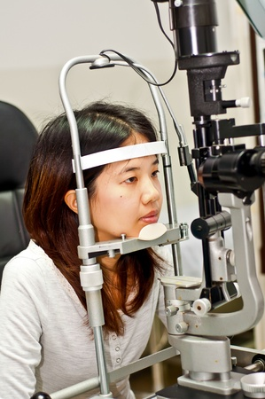 ophthalmologist  eye photo