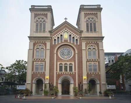 renaissance: view of Assumption Cathedral,Renaissance style, Bangkok