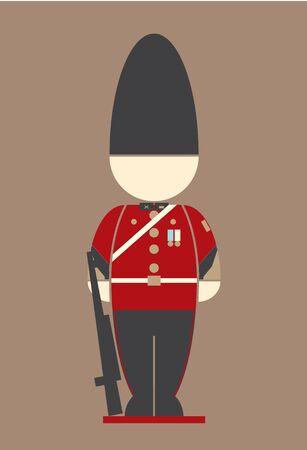 royal person: thai Army at the palace