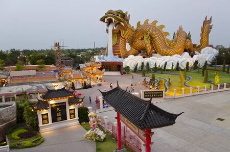 ドラゴンの子孫博物館、スパンブリー、タイ 写真素材 - 83327257