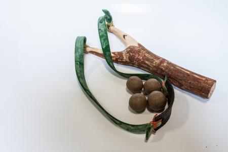 Slingshot old toys in Thailand