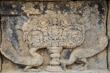 trimurti: Temple prambanan or groups Prambanan temple of Hinduism  Is the largest Hindu temple in Indonesia  Stock Photo