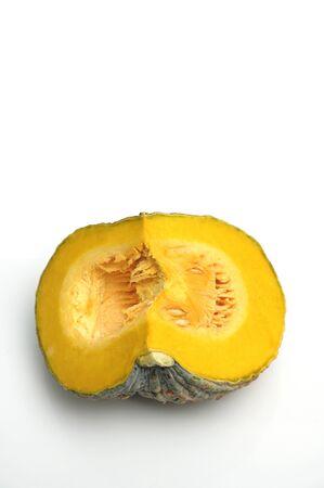 cucurbita: a piece pumpkin Stock Photo