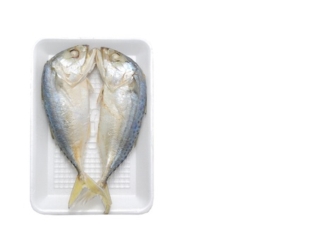 mackerel: Mackerels steamed in a pack