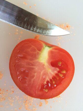 cut: Tomato cut