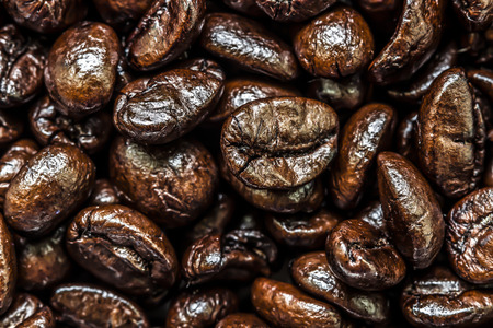 Coffee beans.Before grinding.