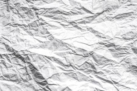 Crumpled paper.