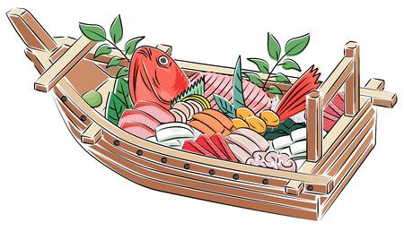 Fish Japanese cuisine