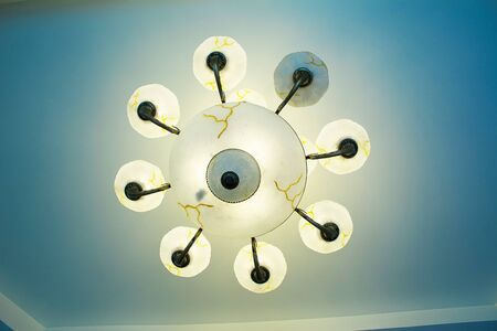 ceiling lamp: Ceiling lamp Stock Photo