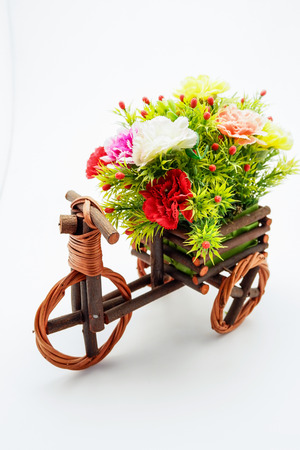 faked: tricycle Wood Flower Faked