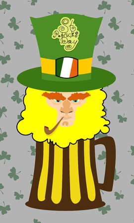 Card St. Patrick\ Vector