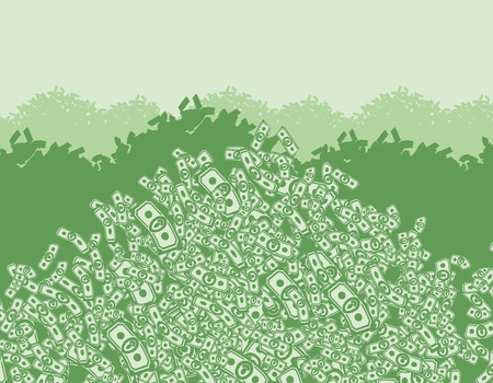 money rain: mountain of money, lots of money, wealth, bunch money, money background from dollars