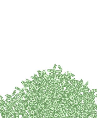 money wealth: mountain of money, lots of money, wealth, bunch money, money background from dollars