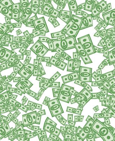 cuenta: Patr�n de dinero. Fondo de dinero de d�lares
