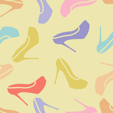 ladies shoes: pattern for ladies shoes