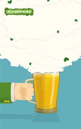 st patrick day: St. Patrick day Illustration
