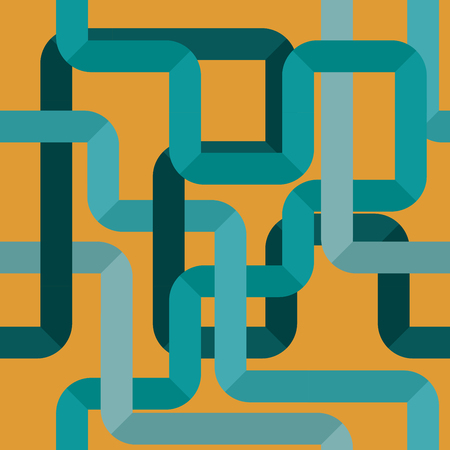conduit: water pipeline pattern Seamless, abstract background