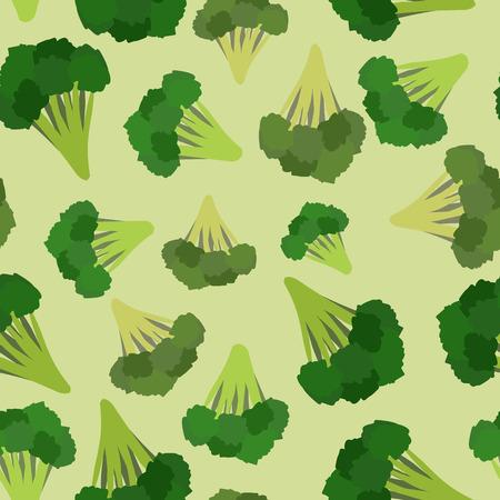 Brocoli pattern. Brocoli vert von vecteur vert Vecteurs