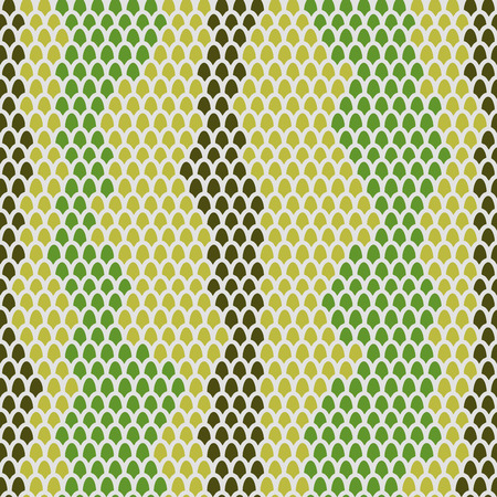 Snake skin seamless pattern. Vector background Leather reptiles.