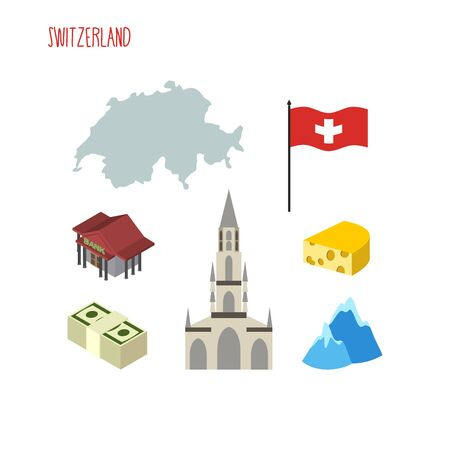 Map Of Switzerland Attraction Of Berne Cathedral Characteristics