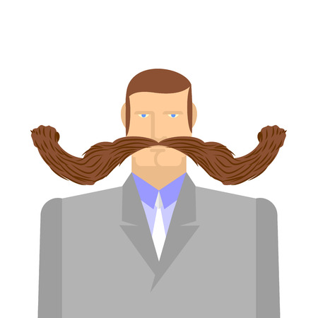 barbel: Man with mustache Barbel.