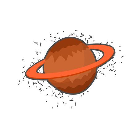saturn rings: Space planet Rings of Saturn.